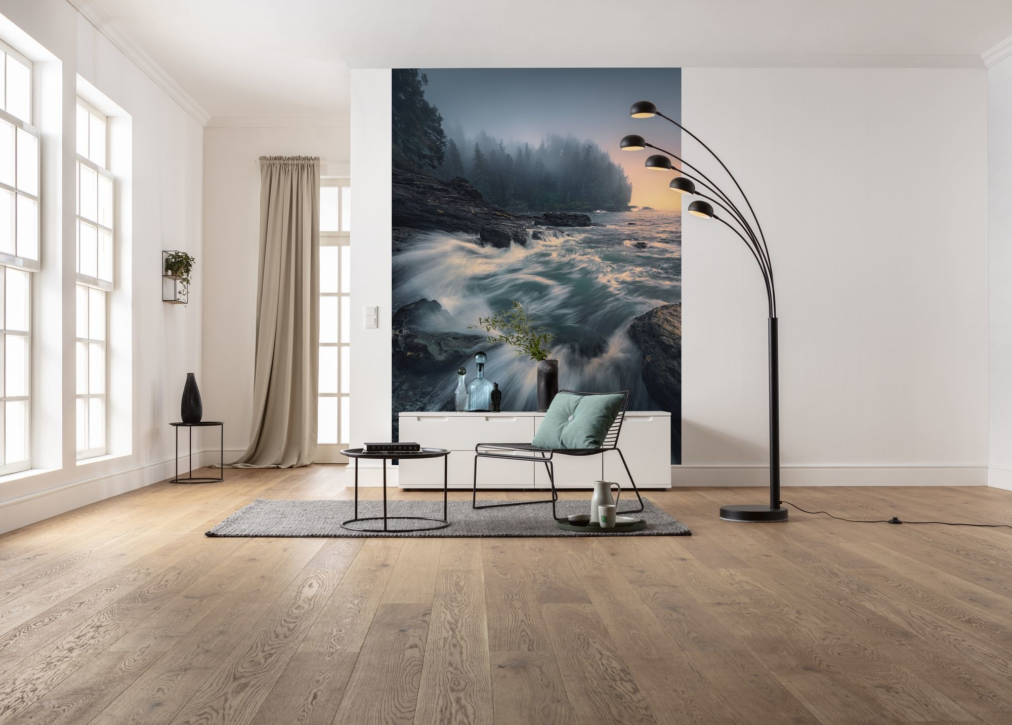 Stefan Hefele Edition 2 Fotobehang Komar - Natuur behang CRY OF THE SEA