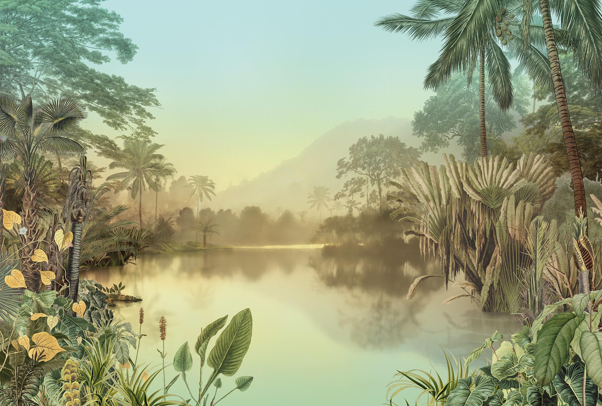 Heritage Edition 1 Fotobehang Komar - Natuur behang LAC TROPICAL