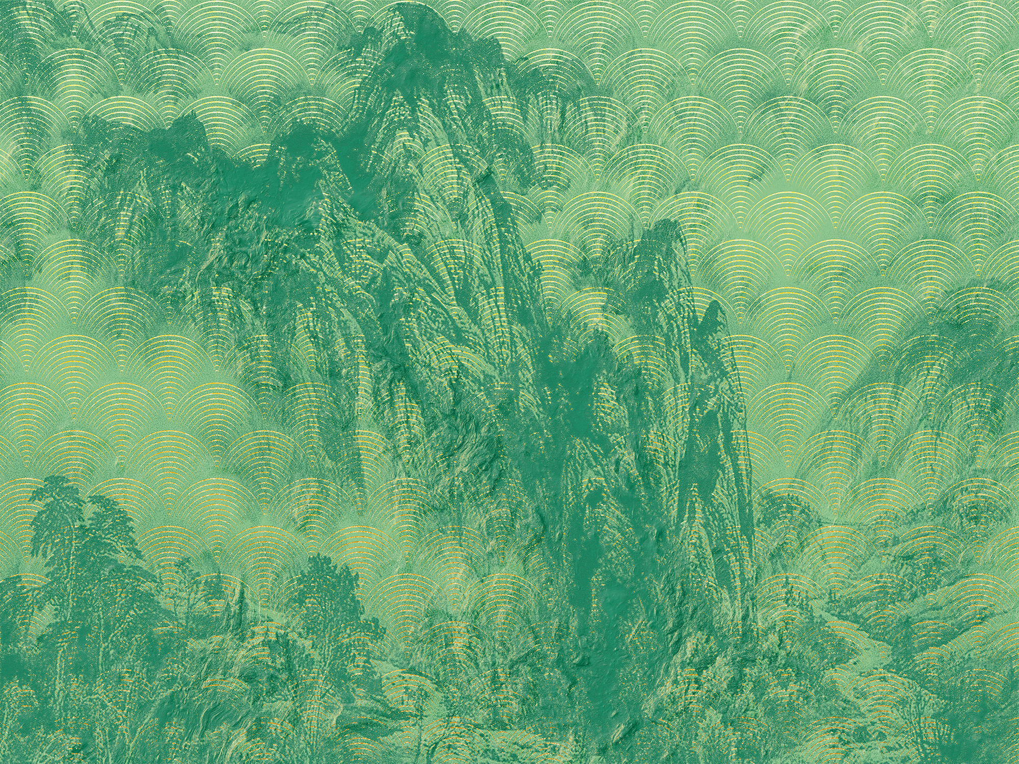 Heritage Edition 1 Fotobehang Komar - Natuur behang MONTAGNES