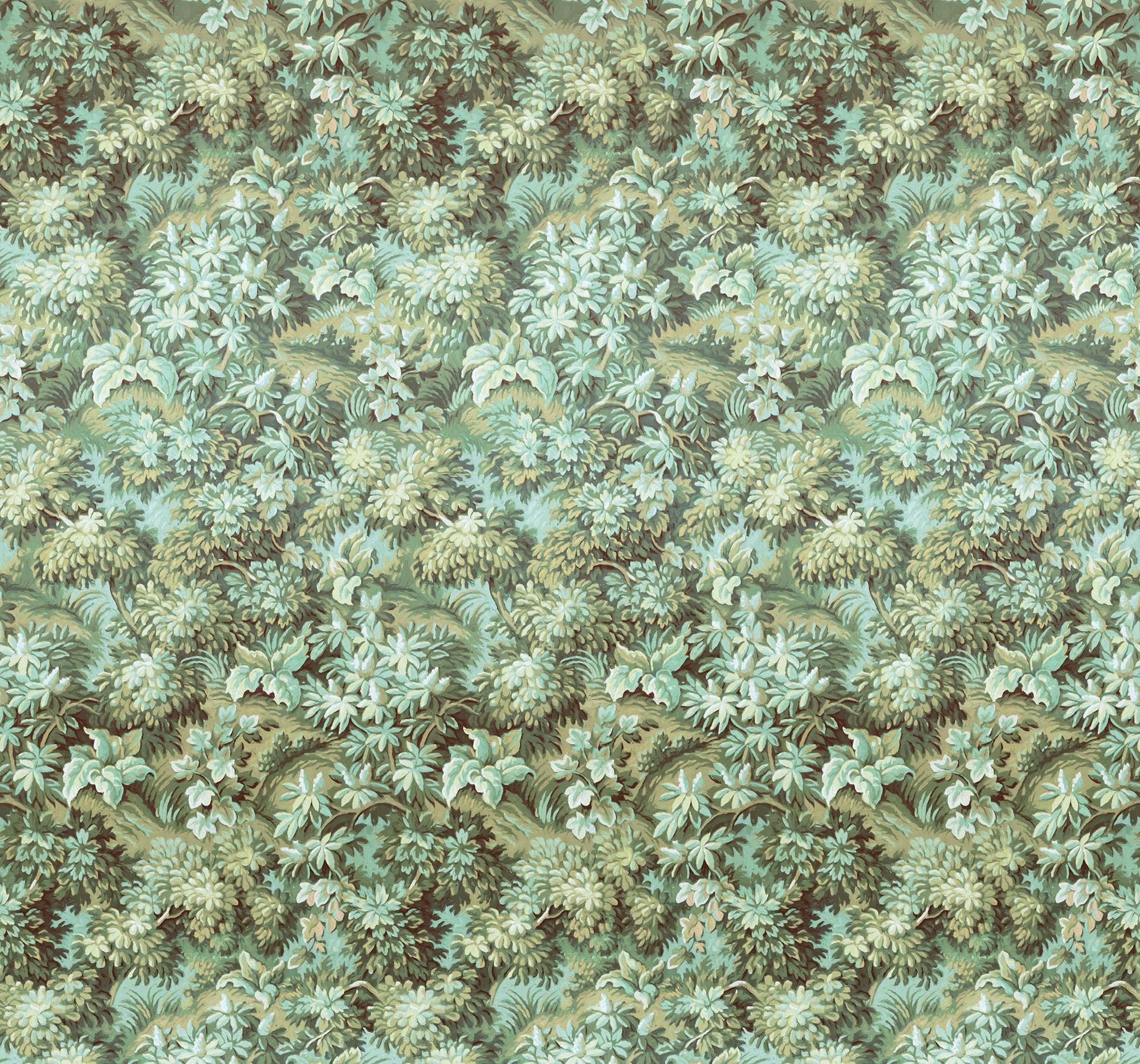 Heritage Edition 1 Fotobehang Komar - Bloemen behang BOTANIQUE VERT
