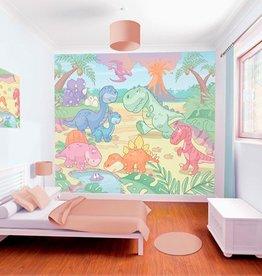RAP Kinderbehang Walltastic XXL - Baby Dino