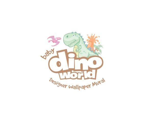 Walltastic Kinderbehang Walltastic XXL - Baby Dino