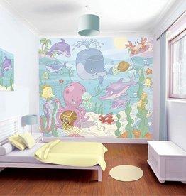 Walltastic OP=OP Kinderbehang Walltastic XXL - Baby Onderwater