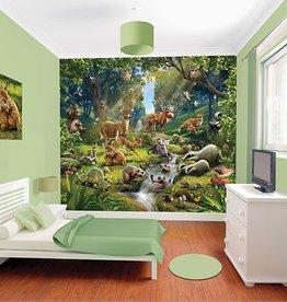 Walltastic Kinderbehang Walltastic XXL - Dierenbos