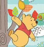 Disney Edition 1 Behangbanner Disney Winnie the Pooh