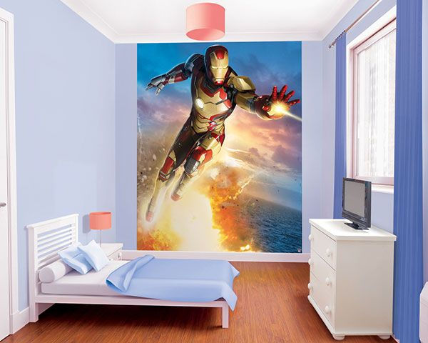Walltastic Kinderbehang Walltastic XL - Iron Man