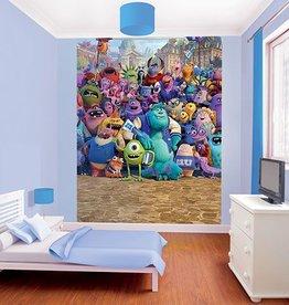Disney Kinderbehang Walltastic XL - Monsters University