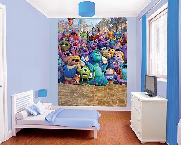 Disney Edition 1 Kinderbehang Walltastic XL - Monsters University