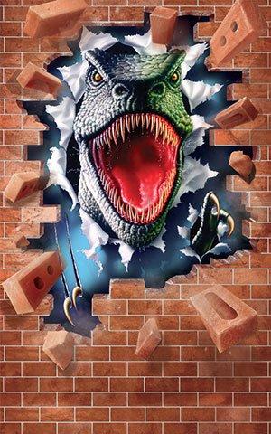 Walltastic Kinderbehang Walltastic L - Dinosaurus