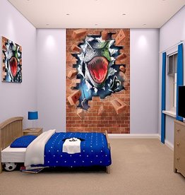 RAP Kinderbehang Walltastic L - Dinosaurus