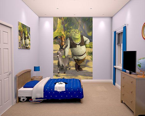 Walltastic Kinderbehang Walltastic L - Shrek