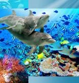 Walltastic Kinderbehang Walltastic XXL - Dolfijnen