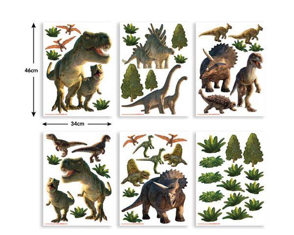 Walltastic Muursticker Kinderkamer Walltastic S Dinosaurus