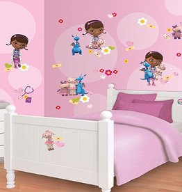 Disney Muursticker Kinderkamer Walltastic S Disney Doc McStuffin