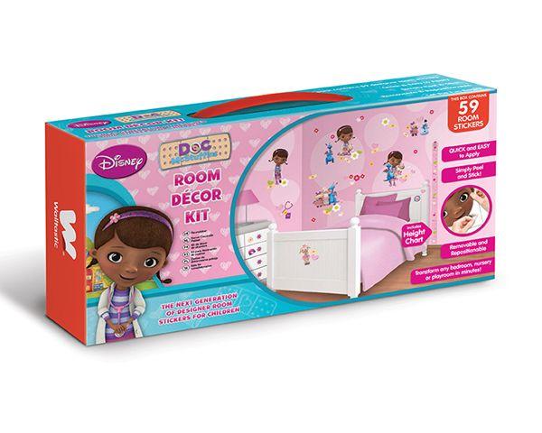 Disney Edition 1 Muursticker Kinderkamer Walltastic S Disney Doc McStuffin