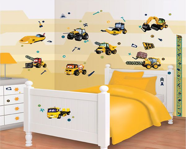 Walltastic Muursticker Kinderkamer Walltastic S Bouwplaats