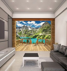 Walltastic Fotobehang Walltastic View Collection XXL - Alpine Mountain
