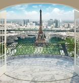 Walltastic Fotobehang Walltastic View Collection XXL - Eiffeltoren Parijs