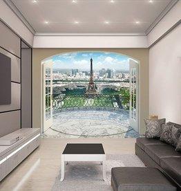RAP Fotobehang Walltastic View Collection XXL - Eiffeltoren Parijs