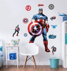Marvel Muursticker Kinderkamer Walltastic XXL Captain America