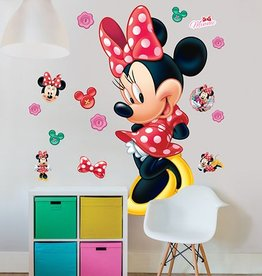 Disney Muursticker Kinderkamer Walltastic XXL Disney Minnie Mouse