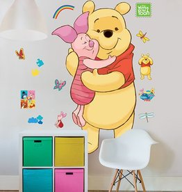 Disney Muursticker Kinderkamer Walltastic XXL Winnie de Pooh