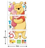 Disney Edition 1 Muursticker Kinderkamer Walltastic XXL Winnie de Pooh