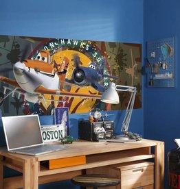 Disney Edition 1 Kinderbehang Kinderkamer Komar Disney Planes Squadron