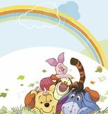 Disney Edition 1 Kinderbehang Kinderkamer Komar Disney Winnie the Pooh