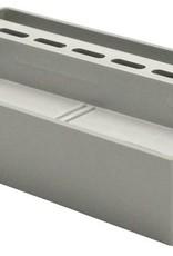 PVC inspectie gedeelte 200 x 100 x 20 mm