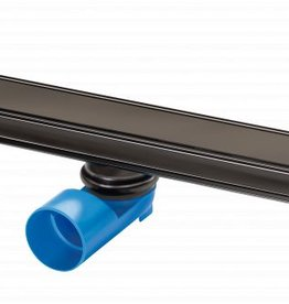 van den Berg Afvoerputten BV Premium Line shower channel Black