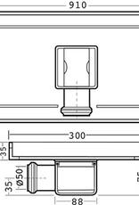 van den Berg Afvoerputten BV Tegelgoot 910 mm