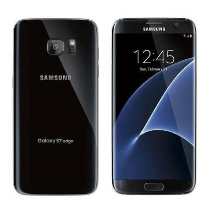 Samsung Galaxy S7 Edge Smartphone entsperrt SIM-frei - 32 GB - Mint - Schwarz - 3 Jahre Garantie