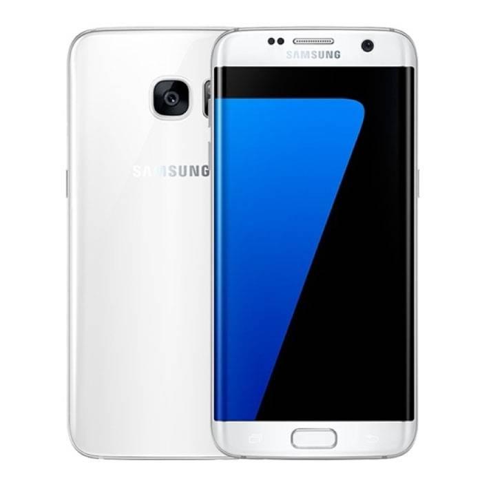 Smartphone Samsung Galaxy S7 Edge débloqué sans carte SIM - 32 Go - Vert menthe - Blanc - Garantie 3 ans