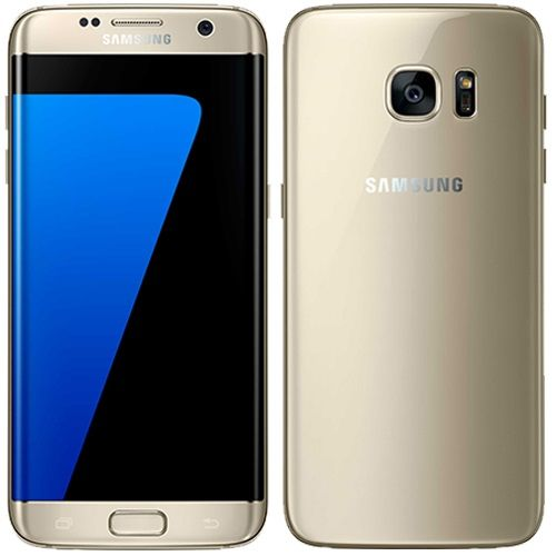 Smartphone Samsung Galaxy S7 Edge débloqué sans carte SIM - 32 Go - Vert menthe - Or - Garantie 3 ans