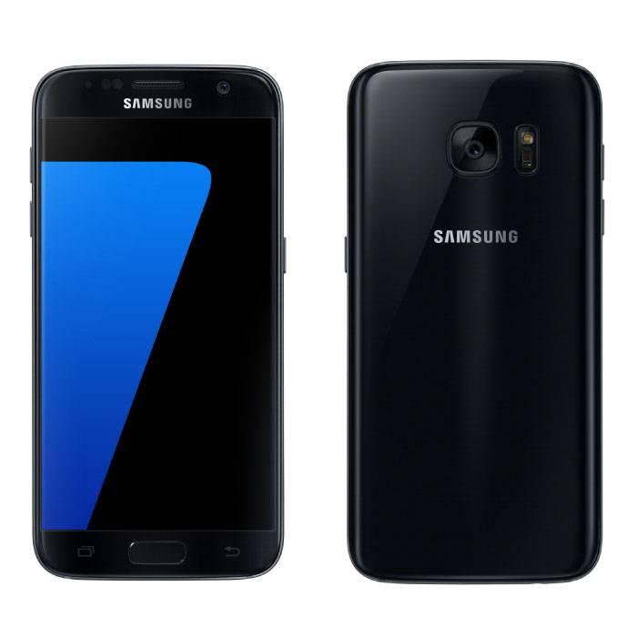 Samsung Galaxy S7 Smartphone Unlocked SIM Free - 32 GB - Mint - Black - 3 Year Warranty