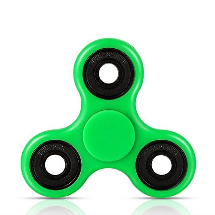 Tri standard Fidget main Spinner Anti Stress Shifter Jouet vert