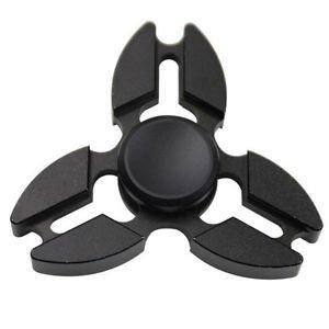 Falcon Tri Fidget Handspinner Anti Stress Shifter Spielzeug Schwarz