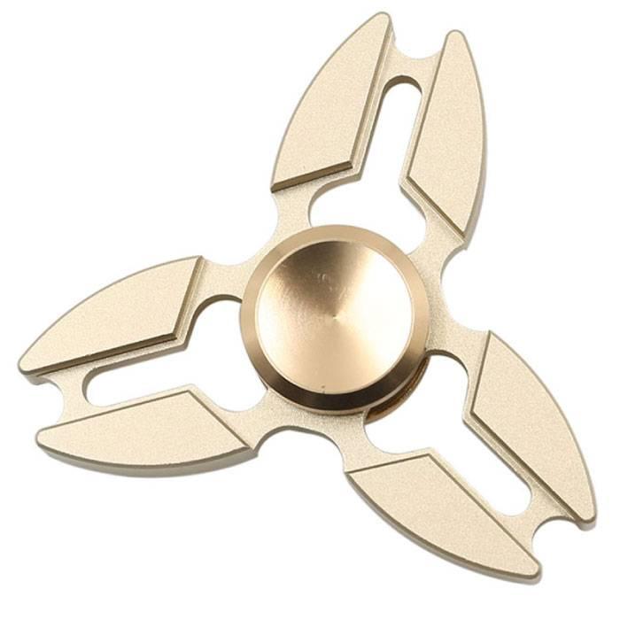 Falcon Tri Fidget main Spinner Anti Stress Shifter Jouet Or