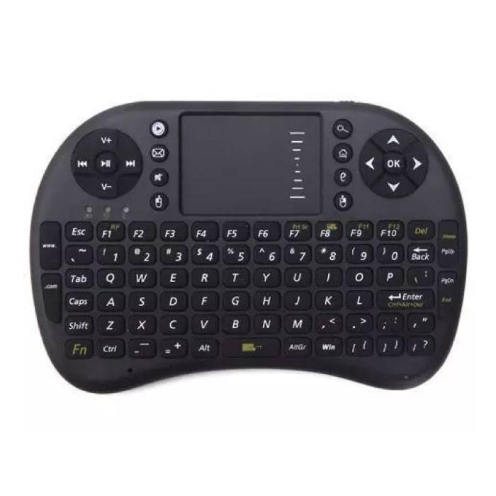 i8 Mini Draadloos QWERTY Toetsenbord voor Mediaspeler TV Box Android Xbox Playstation