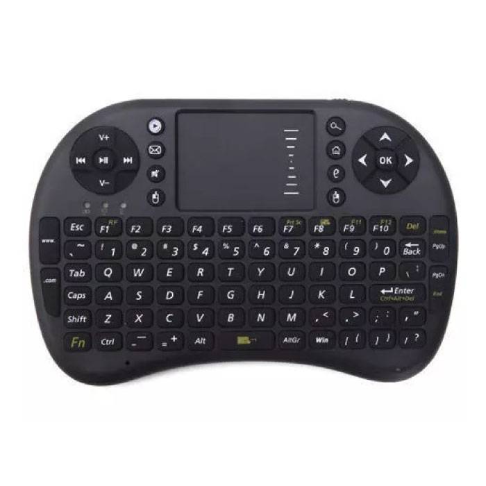 RII i8 clavier sans fil QWERTY pour Box Android TV Media Player Xbox Playstation