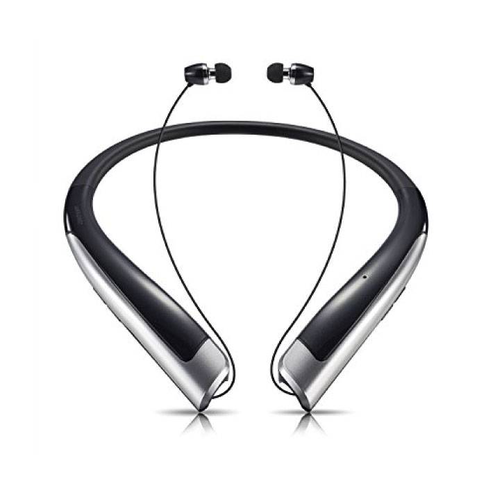 TONE Bluetooth 4.1 HBX1100 iOS / Android-Kopfhörer Ohren Ecouteur mit Nackenbügel-Kopfhörer Schwarz - Klarer Klang