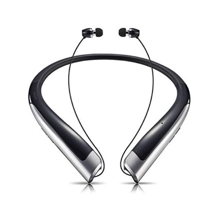 TONE Bluetooth 4.1HBX1100 iOS / Android Ears Earphones écouteur Neckband Black - Clear Sound
