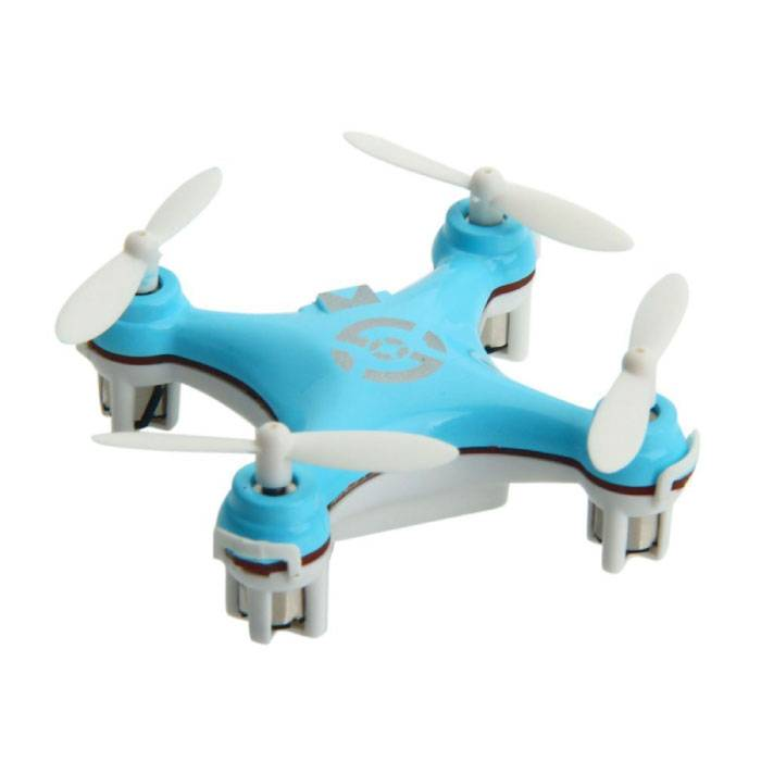 CX-10 Mini Drone Quadcopter RC Helicopter Toy Bleu