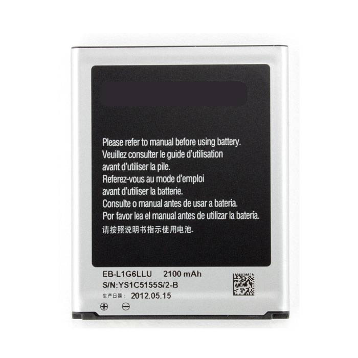 Batterie / Batterie A + pour Samsung Galaxy S3 i9300