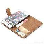 Stuff Certified® iPhone 5 5S SE - Wallet Flip Case Cover Cas Case Wallet Black