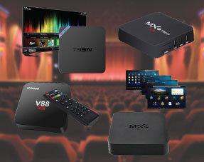 Cajas de Android TV