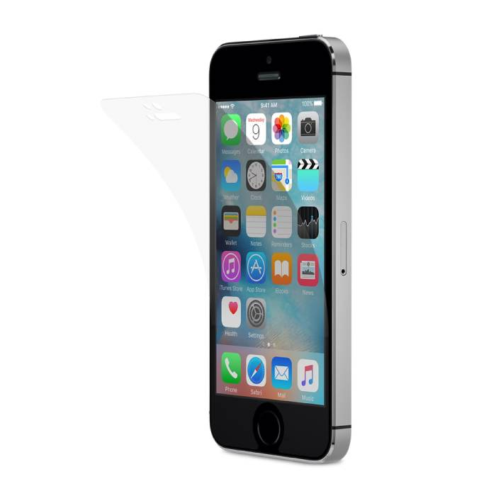iPhone 4 Screen Protector Sterke Foil Folie PET Film