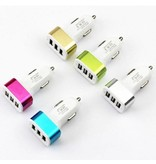 Stuff Certified ® 5-Pack High Speed ??3-Port Charger / Carcharger Gold