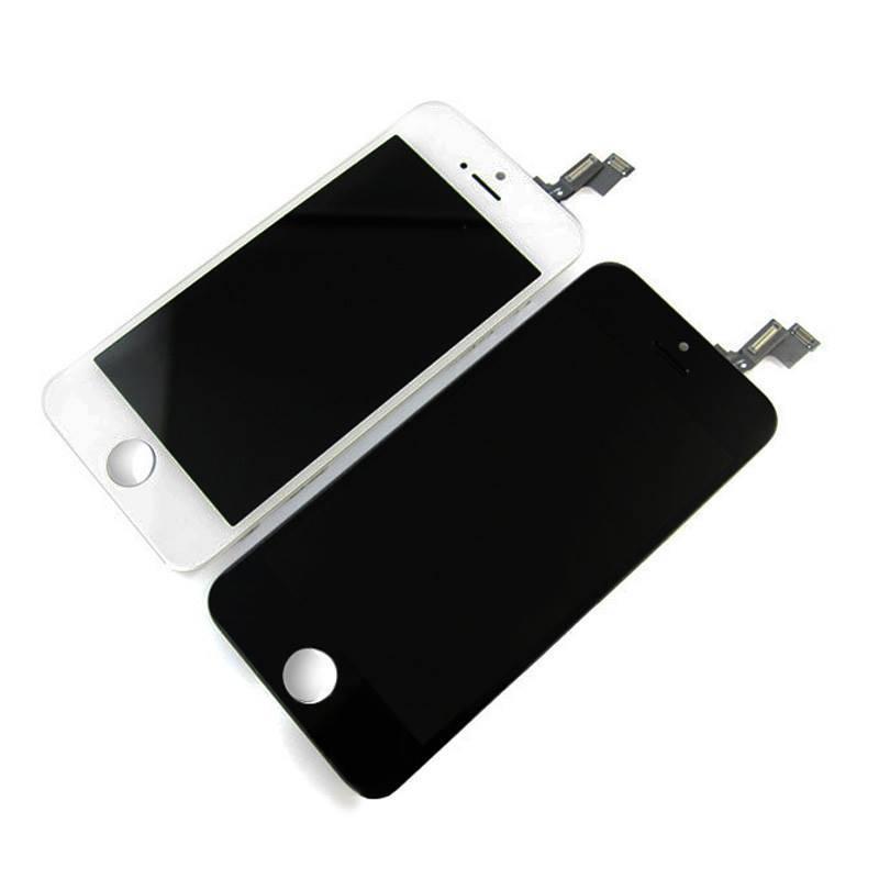 Stuff Certified® iPhone 5S Scherm (Touchscreen + LCD + Onderdelen) A+ Kwaliteit - Zwart